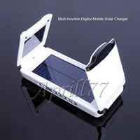 Wholesale Solar Laptop Charger with w mah Battery for Laptop Ntebook Mobile Phone Camera MP3 MP4