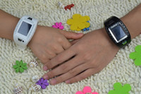 Wholesale black white AOKE AK11 quot touch screen Watch Mobile Phone with Bluetooth and Camera FM mp3