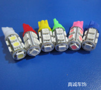 automotive led bulbs - Automotive LED The width light bulb T10 SMD highlight the three chip light vehicle Free shipp