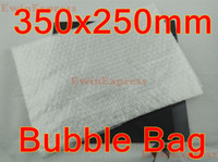 Wholesale 100pcs New inflatable air bag Transparent Pouches packaging bubble envelope x250mm Bags