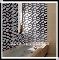 Wholesale Mosaic Tile pattern Vinyl Wallpaper self adhesive wall stickers wall paster PVC wall sticker paster