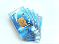 Wholesale fation cell phone sticker k gold plated cellphone sticker anti radiation