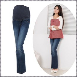 Wholesale New Maternity Jeans Autumn amp winter fashion pregnant women jeans prop belly pants can be adjusted