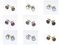 Wholesale 2 The cufflinks for men more desiger cufflinks online round novelty cufflinks pairs