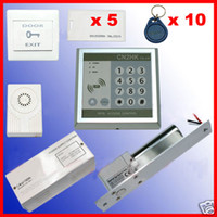 Wholesale RFID Access Control Full Kit Electric Bolt Door Lock Door System