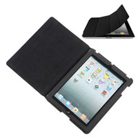 Wholesale Magnetic Leather Case Smart Protective Cover Stand for rd Gen New iPad iPad2 ipad3