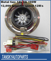 Wholesale genuine article Racing Electric Supercharger for all car TK AW5001N Aluminum Fan