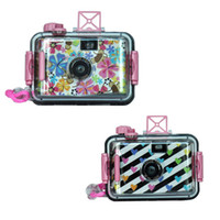 Wholesale Ultra compact mm film Underwater Camera with plastic waterproof case max M LOMO camera Models