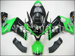 K419 Green Black Fairing kit for KAWASAKI Ninja ZX6R 03 04 ZX6R 2003 2004 ZX 6R ZX-6R 636 Injection mold Fairings set