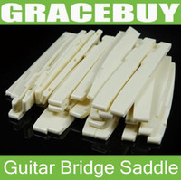 Wholesale Alice Fitting String Bridge Plastic Fully Compensated Saddle for Acoustic Guitar Sizes to Select