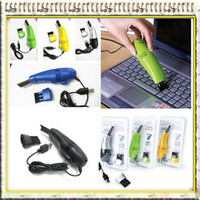 Wholesale 50pcs Mini USB Vacuum Cleaner for Laptop with USB Connection Keyboard Vacuum Sweeper