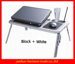 Wholesale Brand New Cool ABS Laptop Computer Desk Foldable Table Notebook Radiator Portable Bedding Table