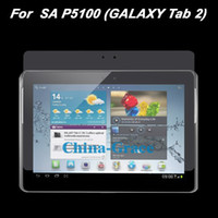 Wholesale Clear LCD Screen Protector Film For Samsung Galaxy Tab P5100 Screen Guard T211 B