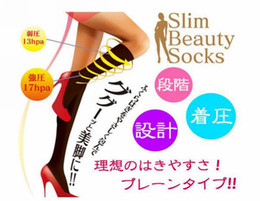 Wholesale Japan Germanium Titanium Silver Slim Legs Socks Slim Beauty Socks pairs