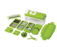 Wholesale Multi Chopper Fruit Slicer Vegetable Salad Grater Nicer Dicer Plus Kitchen Product pieces set