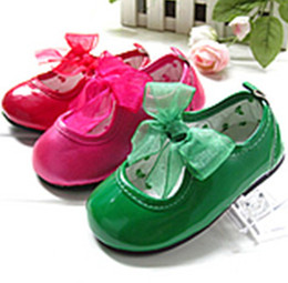 Wholesale Multicolor Girls Shoes Autumn Fashion Children Flower Soled Kids butterfly infant girl bow shoes