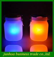 sun jar solar light - Waterproof Sun Jar Lamp Ambient Moon Solar Energy Saving powered Light Women Gifts