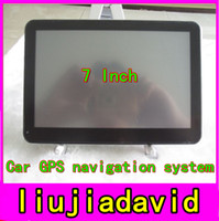 Wholesale 7 Inch Car GPS Navigation System HD Universal GB Memory Free Maps Windows CE Free Dropshipping