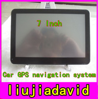 Wholesale 7 Inch Car GPS Navigation System HD Universal GB Memory Free Maps Windows CE Free Shipped Hot