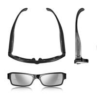 camera sunglasses 5mp - Promotion GB Eyewear MP HD Sunglass DV Black Mini Sunglasses Camera Hidden Camera