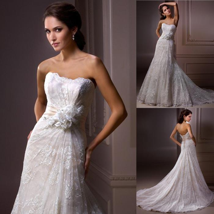 Wholesale Wedding Dresses From High Fashion Designers 15