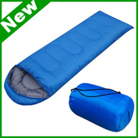 Wholesale New Arrival Ployester Envelope Camping Sleeping Bags Soft Slumber Bags For Men Women SP38B