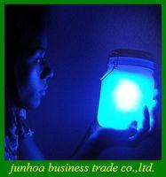 sun jar solar light - 7 colors change automatically Solar Light Sun and Moon Jar Lamp Sunshine Love Gifts