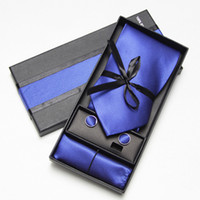 Wholesale mens neck tie set with ties and cufflinks amp kerchief sets From