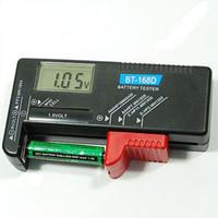 Wholesale Digital LCD AAA AA PP3 F22 Alkaline V Battery Tester