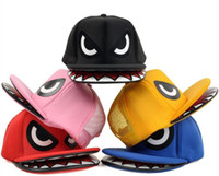 Wholesale 5pcs hiphop snapback caps Boys and girls Fashionable hats