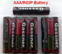 Wholesale 100 Fresh AAA R03P Super heavy duty batteries v Carbon zinc cell SGS ISO
