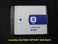 Wholesale NP BD1 V mAh Li ion Battery Camera battery for Sony DSC T200 T300 T500 T700 T900