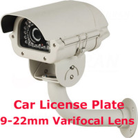 Wholesale CCTV Surveillance Car License Plate Security Camera TVL mm Varifocal Lens