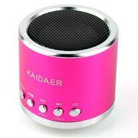 Wholesale Mini Metal Audio Speaker w Micro SD TF Slot for MP3