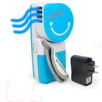 Wholesale 2012 Fashion Bladeless Fans USB Portable Handheld Air Conditioning No Leaf Mini Cooling Fan JJYP