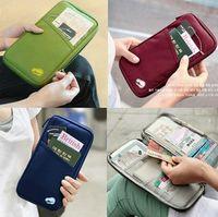Travel Wallet Passport Holder Document Organizer Bag Bank ID...