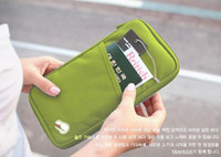 Portable Travel Wallet Passport Holder Document Organizer Ba...