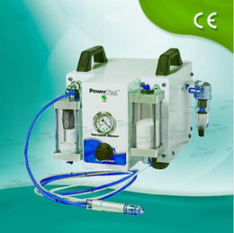 New Power Peel 2-1 Crystal Microdermabrasion Diamond Dermabrasion Peeling Skin Care Machine German Pump beauty equipment