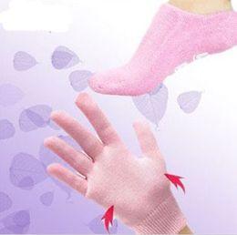 Wholesale Gel Socks Gel Gloves Moisturize Soften Repair Cracked Skin Moisturizing Treatment Gel Spa Socks