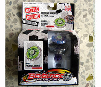 Wholesale Metal BEYBLADE TOPS Beyblade spin top toy styles colors mixed carton