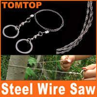 Wholesale Steel Wire Saw Strongest Emergency Camping Hunting Survival Tool Camp H8097