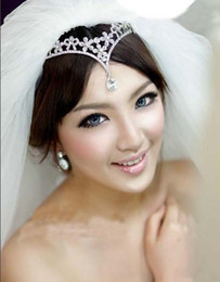 Wholesale Fashion Crown Weddings Jewerly Bridal royal plated crown for wedding SJFH1820 sampe