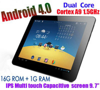 Wholesale 9 inch tablet pc Capacitive Screen tablet android OS RK3066 dual core ghz tablets DHL
