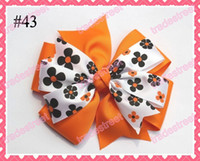 korker bows - NEWEST Halloween hair bows mix korker bows and boutique hair bows and layered c