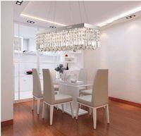 Modern Hotel 10 ~ 15sq.m Luxury restaurant chandeliers modern square living room lamps lighting crystal lamps bedroom lamps