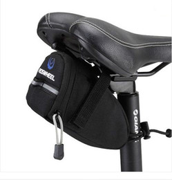Wholesale New Black Bicycle Bike Cycling Under Seat Saddle Bag Pouch