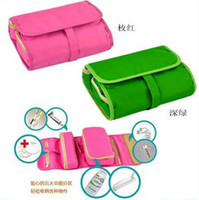 Wholesale New Portable Multifunctional Travel Washing Kits Bag Cosmetic Bag Good for Trip
