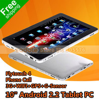 Wholesale Tablet PC Inch Android Flytouch Tablet PC Built in G WIFI GB Phone Call G Sensor GPS H