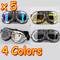 Wholesale New Motorcycle Helmet Goggles ATV Motocross Accessory Youth Goggles Folding Mixed Colors
