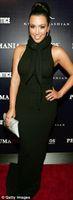 Cheap Kim kardashian High neck Sheath Black Sexy Designer Long Celebrity Dresses Pageant evening Dress